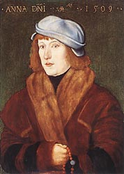 Portrait of a Young Man with a Rosary