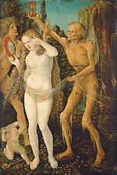 Three Ages of Woman and Death, 1510