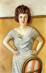 Portrait of Frau Heidel 1922