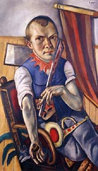 Self Portrait as a Clown 1921