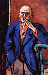 Self Portrait in Blue Jacket 1950