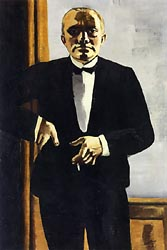 Self Portrait in Dinner Jacket 1927
