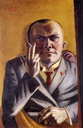 Self Portrait with Cigarette 1923