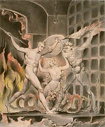 Satan, SIn and Death - Satan Comes to the Gates of Hell, c1806