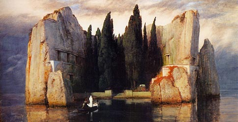 The Isle of the Dead, 1883 by Arnold Boecklin