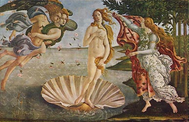 The Birth of Venus, c1485