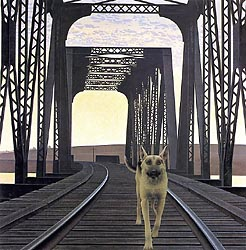 Dog and Bridge, 1978