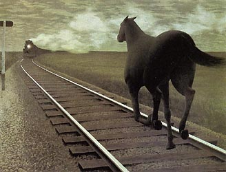 Horse and Train, 1954