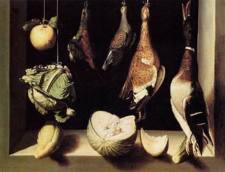 Still Life with Game Fowl, 1600-03
