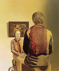 Portrait of Gala 1935 by Salvador Dali