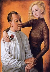 Painter Hans Theo Richter and his Wife Gisela 1933