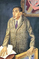 Portrait of Art Dealer Alfred Flechtheim 1926