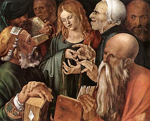 Christ among the Doctors, 1506