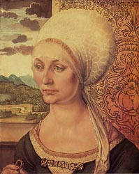 Portrait of Elsbeth Tucher, 1499