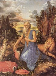 St. Jerome in the Wilderness, c1494-97