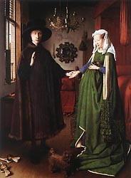 Portrait of Giovanni Arnolfini and his Wife, 1434