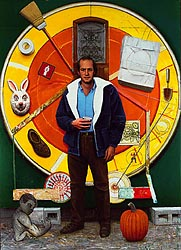 Rick and the Large Mandala, 1995