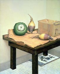Still Life with Squash and Rutabagas, 1975