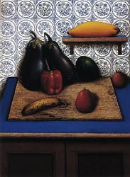 Still Life with Eggplants, 1983