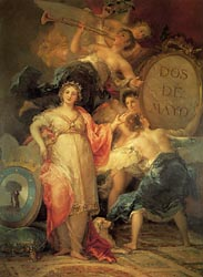 Allegory of Madrid, 1810