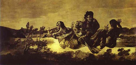 Atropos (The Fates), 1821-23 by Goya