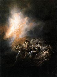 Fire at Night, 1793-94