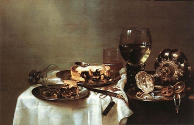 Still Life with Blackberry Pie, 1631