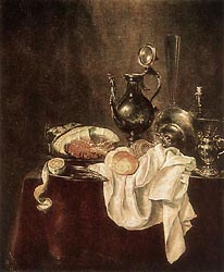 Ham and Silverware, 1649
