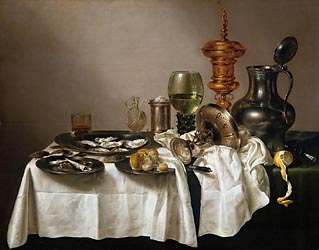 Still Life with a Gilt Goblet, 1635