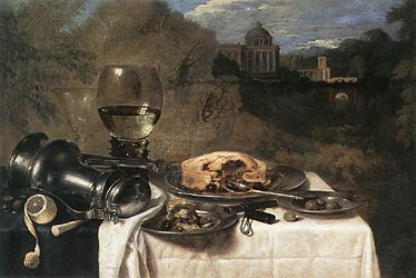 Still Life with Olives, 1634