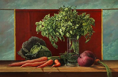 Wismarian Still Life with Parsley (2006)