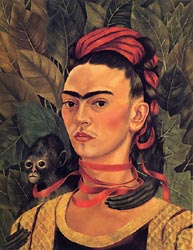 Self Portrait with Monkey 1940