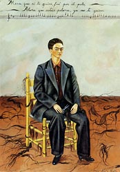 Self Portrait with Cropped Hair 1940