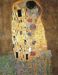 The Kiss, 1908
