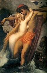 The Fisherman and the Syren, c1856-58