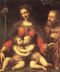 Holy Family with the Infant St. John