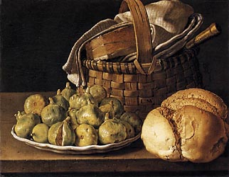 Still Life with Figs, 1760