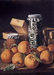Still Life with Oranges, Jars, and Boxes of Sweets, c1760-65