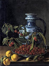 Still Life with Fruit and a Jar, c1773