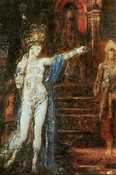 Salome Dancing before Herod (Salome Tattooed), 1874 (detail)