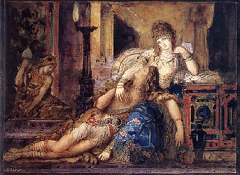 Samson and Delilah, 1881-82