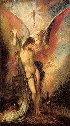 St. Sebastian and the Angel, c1876