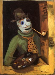 Painter with Mask 1935