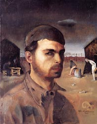 Self Portrait in the Camp 1940