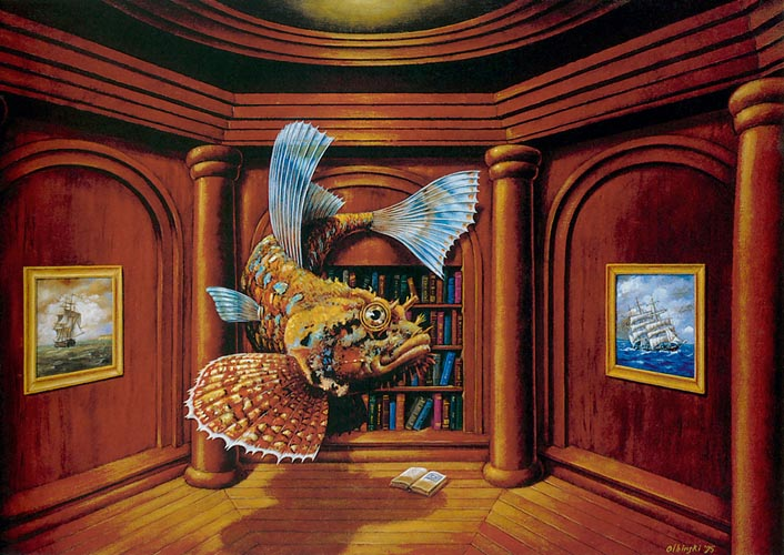 Rafal Olbinski |Poetic Surrealism Painter #artpeople