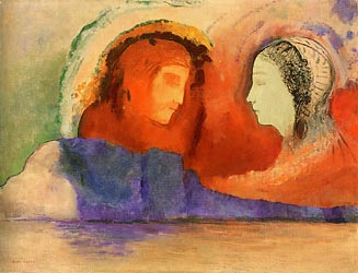 Dante and Beatrice, 1914