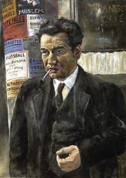 Portrait of Egon Erwin Kisch 1928