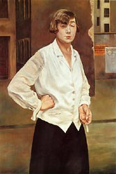 Portrait of Margot 1924