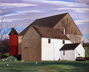 Bucks County Barn 1932
