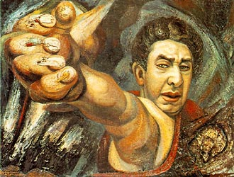 Self-Portrait (El Coronelazo 1945